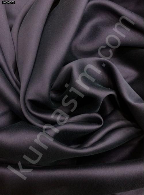 Lacivert c109 Elbiselik Taşlanmış Likra Saten Kumaş - K6009