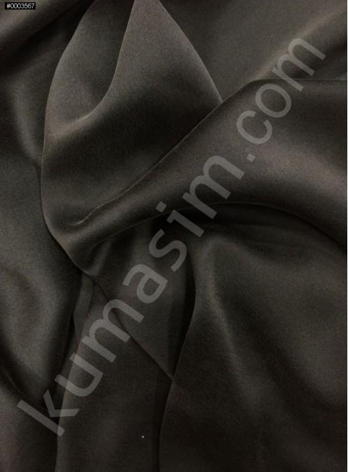 Siyah c101 Elbiselik Taşlanmış Likra Saten Kumaş - K6009