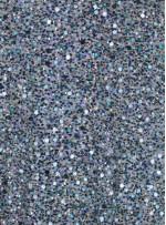 Büyük ve Küçük Payetli - Boncuklu - Taşlı Yeşil Kumaş - K6624