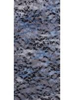 Flok Baskılı Abiyelik Dantel Kumaş - K8022