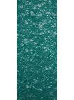 Dantel Üzeri Payetli Kumaş - Yeşil - K8053