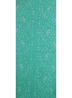 Desenli Dantel Kumaş - Yeşil - K8054