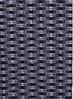 Dantel Üzeri Payetli Kumaş - Siyah - K8073