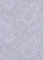 Çiçek Desenli Kordoneli Beyaz c54 Dantel Kumaş - K8803