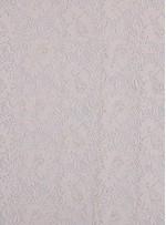 Çiçek Desenli Kordoneli Krem c1 Dantel Kumaş - K8803