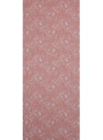 Çiçek Desenli Kordoneli Pudra c2 Dantel Kumaş - K8803