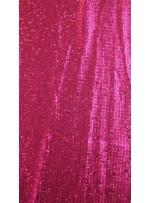 Elbiselik 5 Milim Seyrek Payetli Mat Fuşya c41 Kumaş - K8821