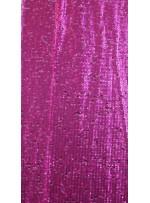 Elbiselik 5 Milim Seyrek Payetli Mat Fuşya c5 Kumaş - K8821