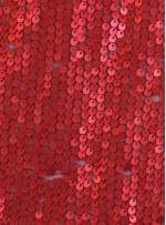 Elbiselik 5 Milim Seyrek Payetli Mat Kırmızı c19 Kumaş - K8821