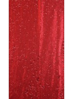 Elbiselik 5 Milim Seyrek Payetli Mat Kırmızı c48 Kumaş - K8821