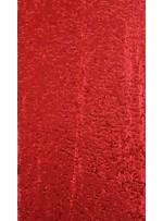 Elbiselik 5 Milim Seyrek Payetli Mat Kırmızı c55 Kumaş - K8821