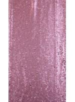 Elbiselik 5 Milim Seyrek Payetli Mat Pembe c3 Kumaş - K8821