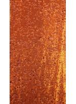 Elbiselik 5 Milim Seyrek Payetli Mat Turuncu c54 Kumaş - K8821
