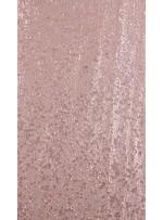 Elbiselik 5 Milim Seyrek Payetli Mat Vizon c53 Kumaş - K8821