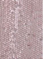 Elbiselik 5 Milim Seyrek Payetli Mat Vizon c62 Kumaş - K8821