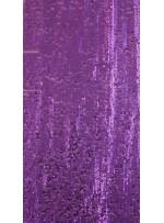 Elbiselik 5 Milim Seyrek Payetli Mat Mor c18 Kumaş - K8821