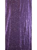 Elbiselik 5 Milim Seyrek Payetli Mat Mor c21 Kumaş - K8821