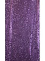 Elbiselik 5 Milim Seyrek Payetli Mat Mor c50 Kumaş - K8821