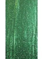Elbiselik 5 Milim Seyrek Payetli Mat Yeşil c17 Kumaş - K8821