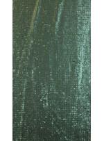 Elbiselik 5 Milim Seyrek Payetli Mat Yeşil c25 Kumaş - K8821