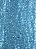 Elbiselik 5 Milim Seyrek Payetli Mat Mavi c27 Kumaş - K8821