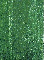 Elbiselik 5 Milim Seyrek Payetli Mat Yeşil c47 Kumaş - K8821