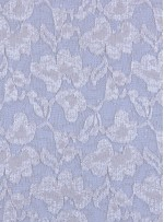 Çiçek Desenli Kemik Payetli Dantel Kumaş - K8824