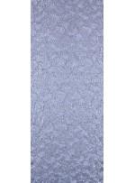 Çiçek Desenli Mat Gümüş Payetli Dantel Kumaş - K8824