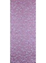 Çiçek Desenli Mat Pudra Payetli Dantel Kumaş - K8824