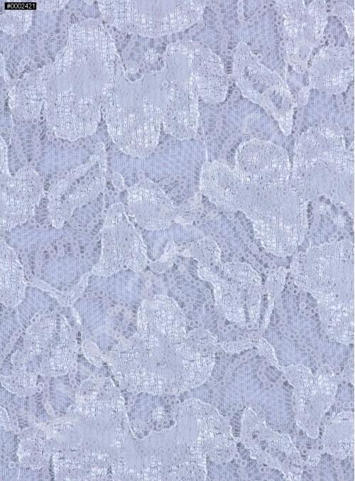 Çiçek Desenli Mat Taş Payetli Dantel Kumaş - K8824