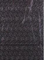 3 mm ve 5 mm Siyah Payetli Kumaş - K88317