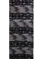 Likralı Dantel Üzeri Sim ve 3 MM Payet İşlemeli Siyah Kumaş - K88505