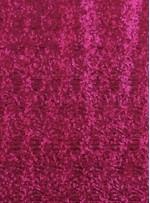 Elbiselik 3 Milim Yoğun Payetli Mat Fuşya c53 Kumaş - K8878
