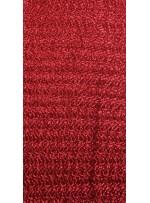 Elbiselik 3 Milim Yoğun Payetli Mat Kırmızı c36 Kumaş - K8878