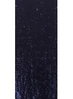 Balık Sırtı Çift Taraflı Payetli Mermaid Kumaş - Antrasit - K8932