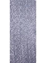 Jarse Üzeri Likralı Payetli Kumaş - Gümüş - K8934