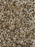 5mm Yoğun Payetli Gold Kumaş - K8936