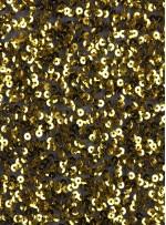 5mm Yoğun Payetli Sarı c4 Kumaş - K8936