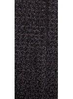 5mm Yoğun Payetli Siyah Kumaş - K8936