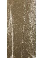 Ezik 3 mm Sıralı Payetli Gold Kumaş - K8937