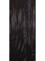 Ezik 3 mm Sıralı Payetli Siyah Kumaş - K8937