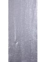 Dalga Desenli Sıralı 3 MM Mat Gümüş Payetli Kumaş - K8945