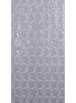 Kayan Yıldız Desenli Gümüş Payetli Kumaş - K8976