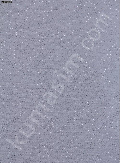 Antrasit c25-2 Düz Simli Şifon - K8992