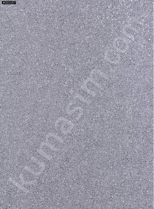 Gri c25-1 Düz Simli Şifon - K8992
