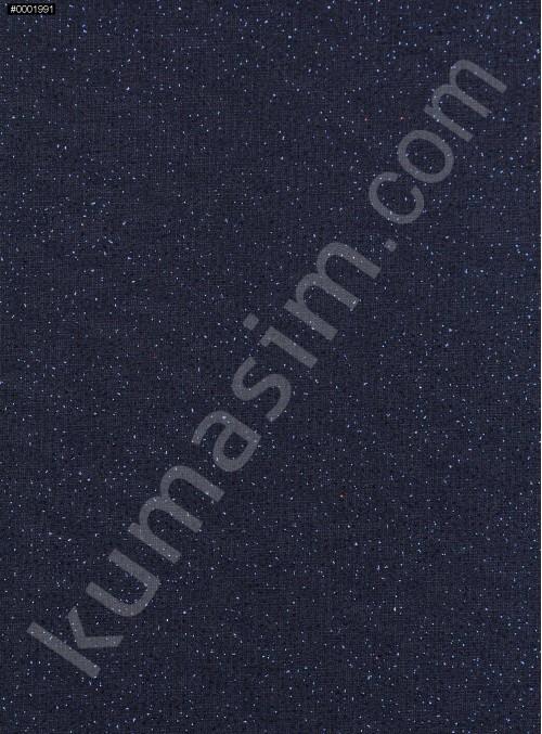 Lacivert c21 Düz Simli Şifon - K8992