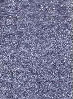 File Üzeri Serpme 3mm Siyah ve Gümüş Payetli Kumaş - K9009