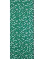 Şal Desenli Açık Yeşil c33 Kordone Dantel Kumaş - K9030