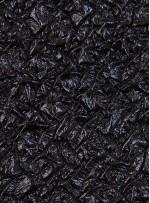 Kabartma Desenli Suni Deri - Siyah - K9046