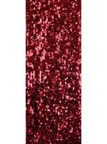 7 MM Büyük Payetli Kırmızı Payetli Kumaş - K9061